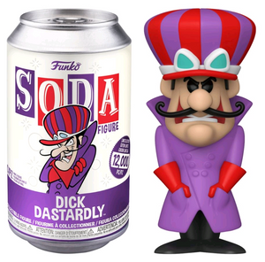 Hanna Barbera - Dick Dastardly 1/6 Chase Chance Vinyl Soda