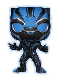 Black Panther - Black Panther Blue Glow US Exclusive Pop! Vinyl