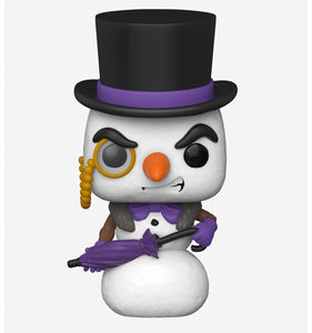 Batman - Penguin Snowman Holiday US Exclusive Pop! Vinyl [RS]