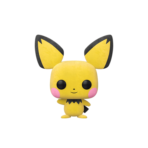 Pokemon – Pichu Flocked WonderCon 2020 US Exclusive Pop! Vinyl [RS]