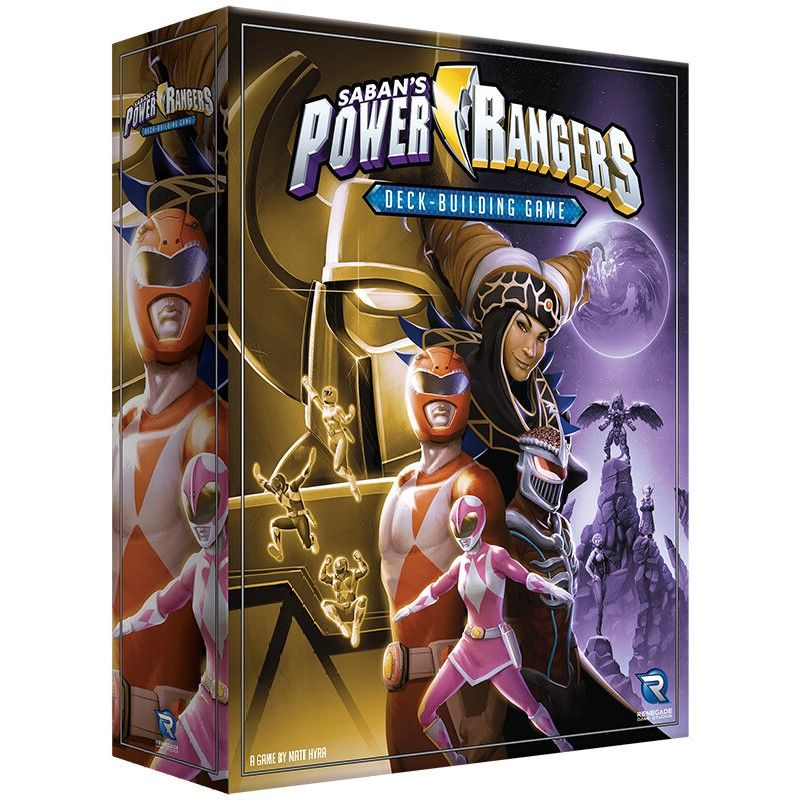 [Pre-Order] Power Rangers Deck-Building Game
