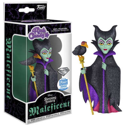 Sleeping Beauty - Diamond Collection Maleficent Rock Candy 5 inch Vinyl Figure