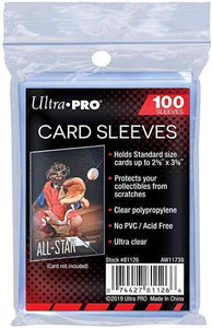 Ultra Pro Standard Soft Card Penny Sleeves for cards - 100 count