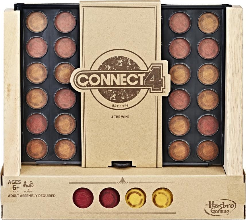 Connect 4 Rustic Series