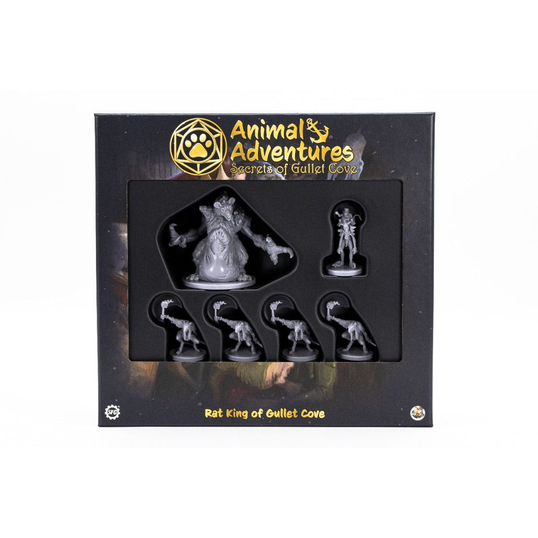 [Pre-Order] Animal Adventures RPG Rat King of Gullet Cove Minis