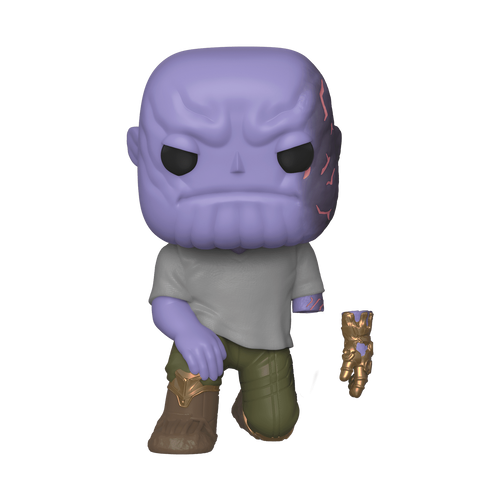 Avengers 4 – Thanos with Magnet Arm ECCC 2020 US Exclusive Pop! Vinyl [RS]