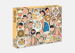 Tiger King 500 Piece Jigsaw Puzzle