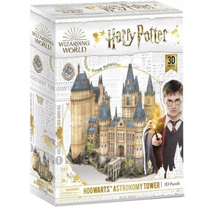 Harry Potter Wizarding World Hogwarts Astronomy Tower 3D Puzzle