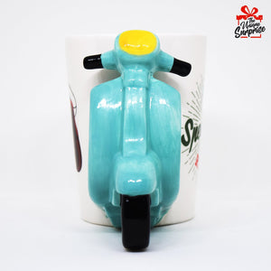 Retro Scooter Coffee Mug