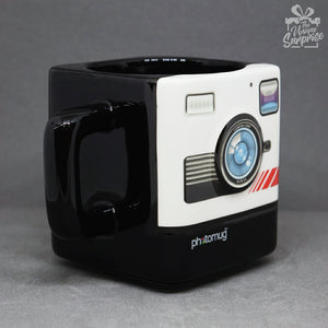 Insta Camera Lens Ceramic Coffee Mug