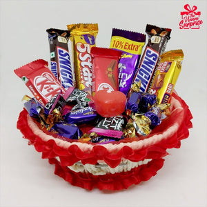 Special Chocolate Tokri Best Gift for Someone Special