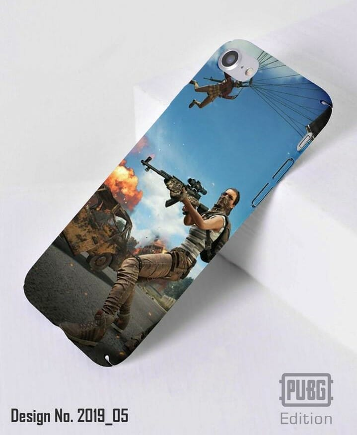 PUBG Mobile Back Case Cover with High Quality Print