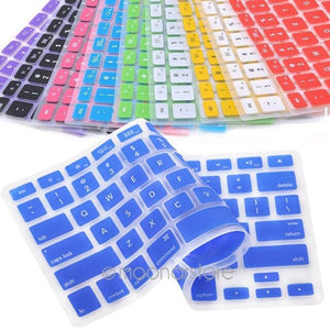 Candy Colors Silicone Keyboard Skin Cover For Apple/Macbook