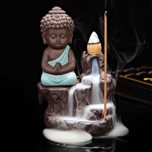 Buddha Backflow Incense Burner