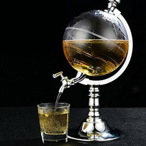 Globe Style Liquor Dispenser 1.5 Liter