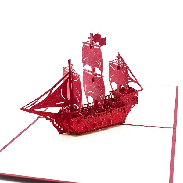 Ship Pop Up Card