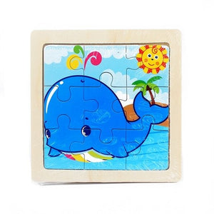 Amazing Wood Puzzle for Kids