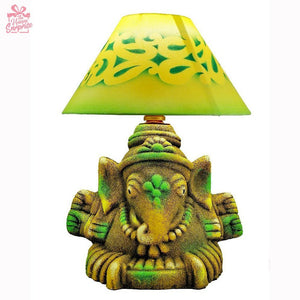 Creative Jagannath Ganesha Terracotta Lamp