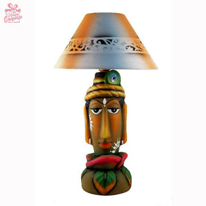 Innocent Krishna Terracotta Table Lamp