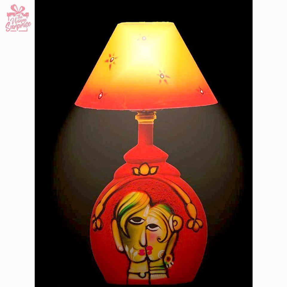 Desi Love Terracotta Table Lamp