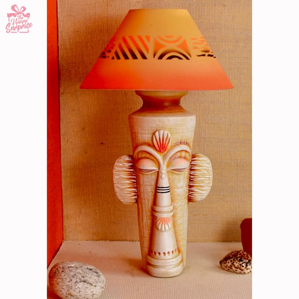 Peaceful Lady Table Lamp