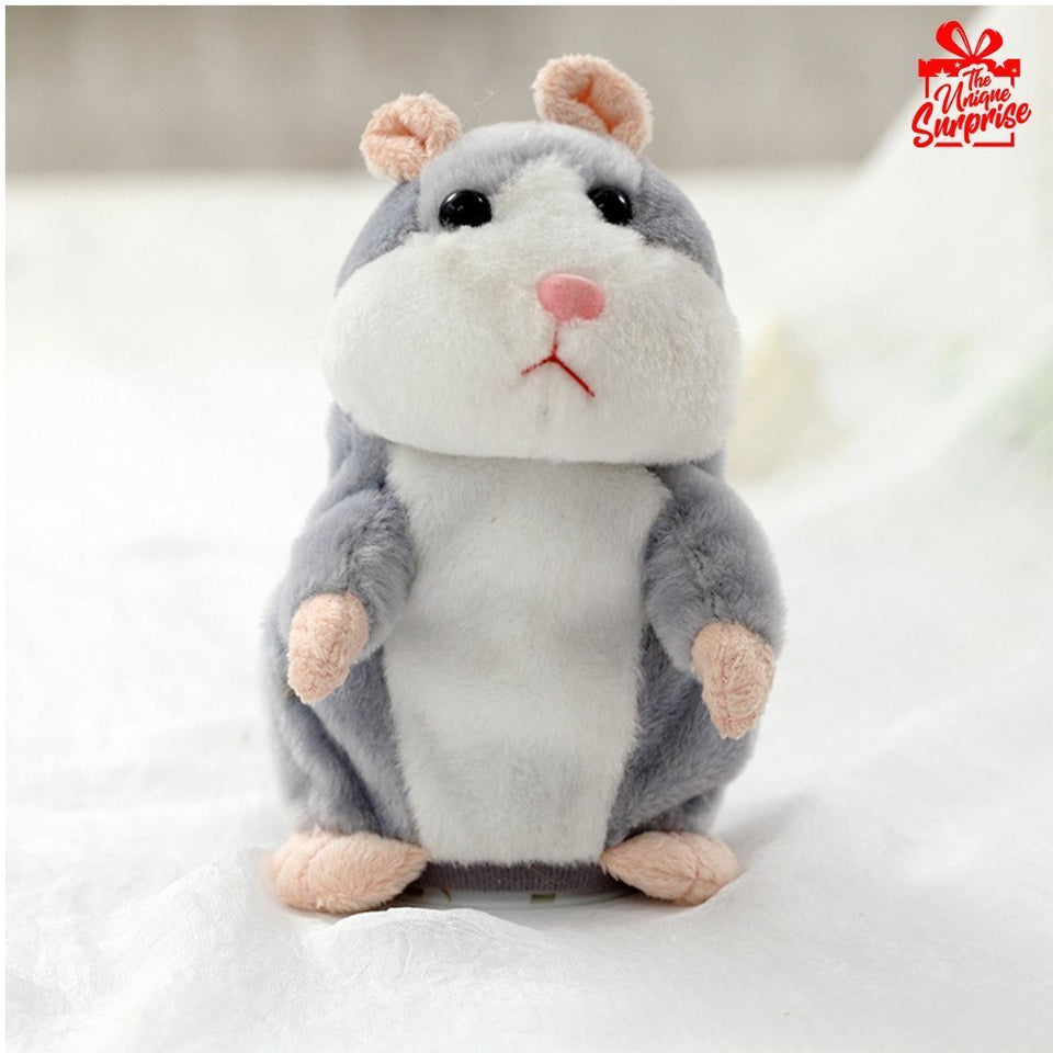 Talking Hamster Mouse Plush Toy