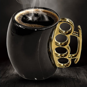 Knuckle Duster Ceramic Coffee Mug