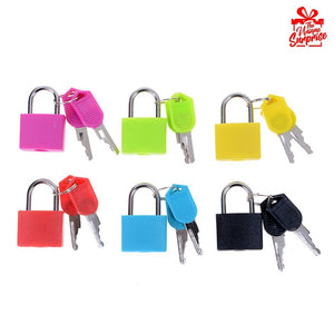 Mini Colorful Locks Set of 6