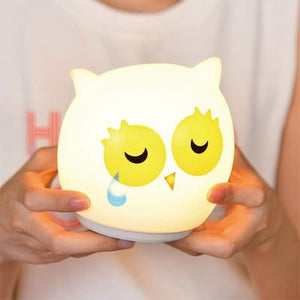Color Changing Owl Night Lamp USB Rechargeable