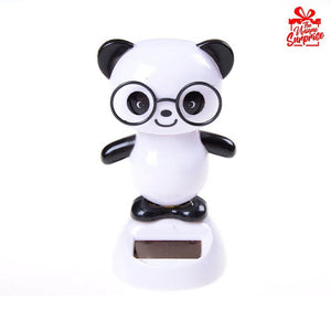 Solar Power Head Shaking Panda