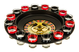 Shot Glass Roulette Drinking Game Set 16 Glasses (FLAT 50% OFF FOR TODAY!)