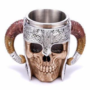 3D Creative Skull Coffee Mug