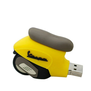 New Vespa Style Motorcycle Pen Drive 32 GB