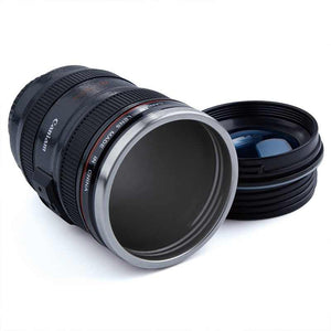 Creative DSLR Camera Lens Shape Coffee Mug