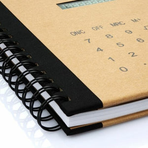 Multi-function Diary Notebook with Solar Power Calculator