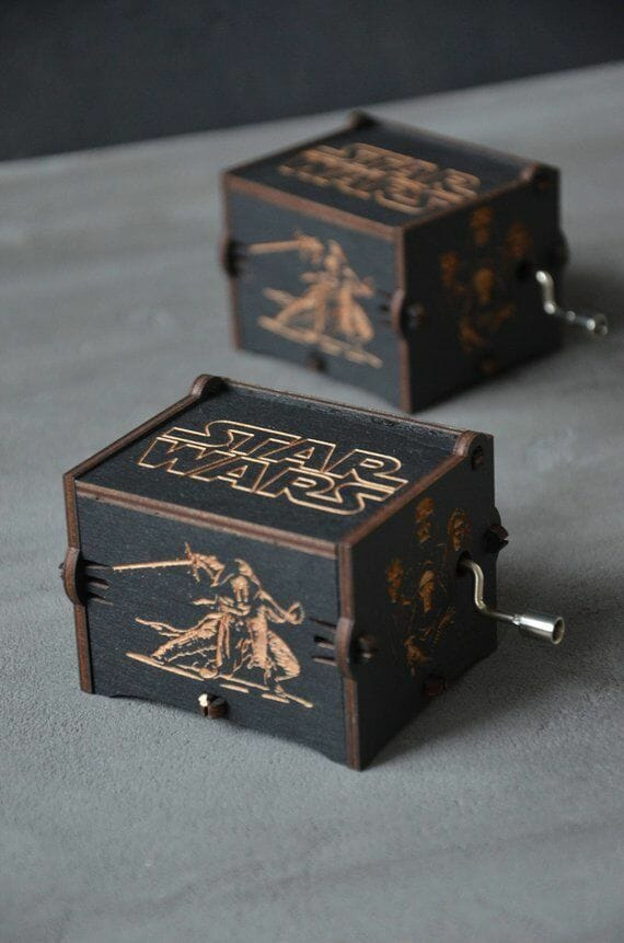 Star Wars Wooden Music Box