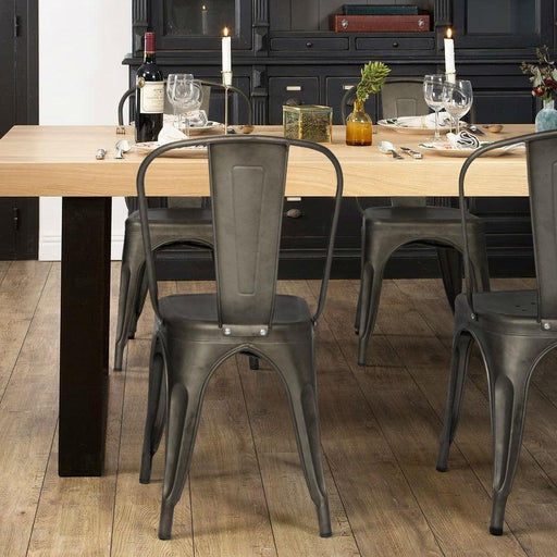 Bistro Stackable Dining Chair (Set of 4)