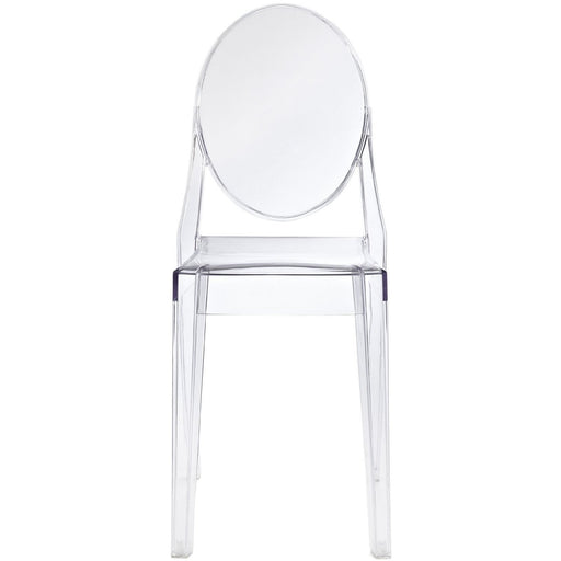 Demi Clear Stackable Dining Chair