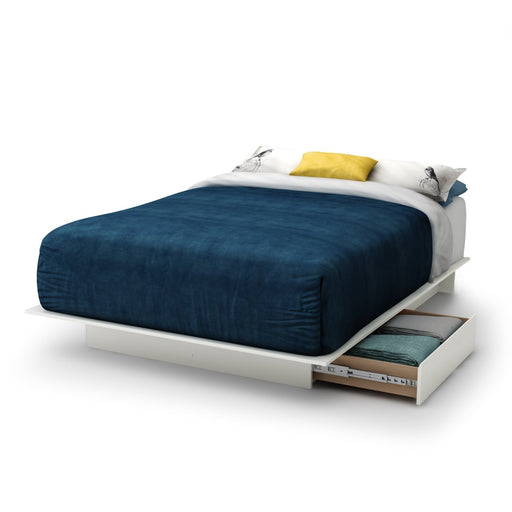 Rise Platform Bed with Storage Drawers