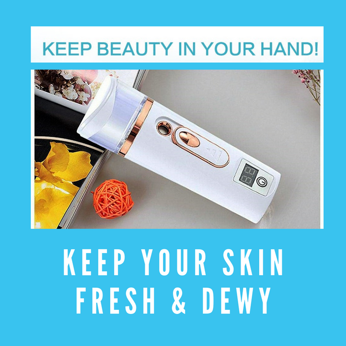 KEEP YOUR SKIN FRESH AND DEWY