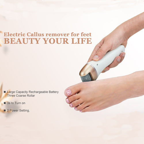 Rechargeable Electric Callus Remover & Foot File