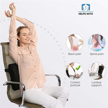 Load image into Gallery viewer, 3D Memory Foam Lumbar Support Cushion