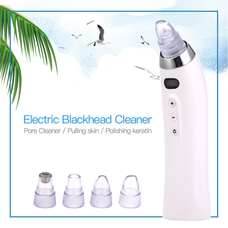 Blackhead Extractor Comedo Suction & Pores Cleaner - MORE POWERFUL SUCTION