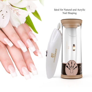 Homecare Manicure and Pedicure Nail Buffer Polish Tool With LED Light -SimplicityforLife