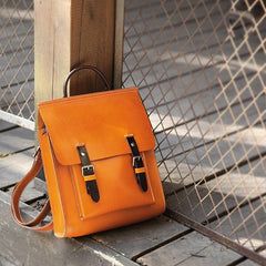 Leather Satchel Backpack Women's Bag Purse