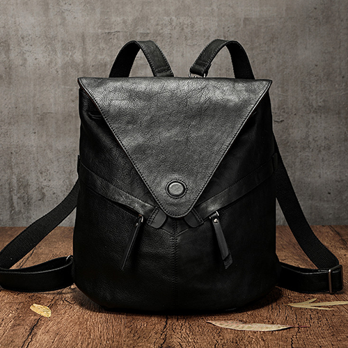 Cool Leather Convertible Satchel Backpack Bags