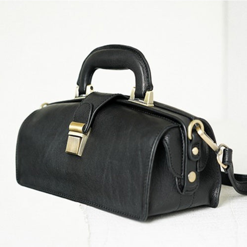 Leather Structured Female Doctor Bags