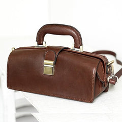 Female Doctor Bags Vintage Leather Doctor Bag Purse Style Bag