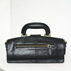 Women's Doctor Bag Vintage Leather Doctor Bag Purse Style Bag