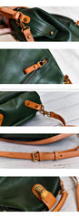 Handmade Womens Tan Leather Doctor Backpack Purse Shoulder Doctor Handbags for Women